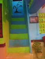 stairs to Gingertree Restaurant
